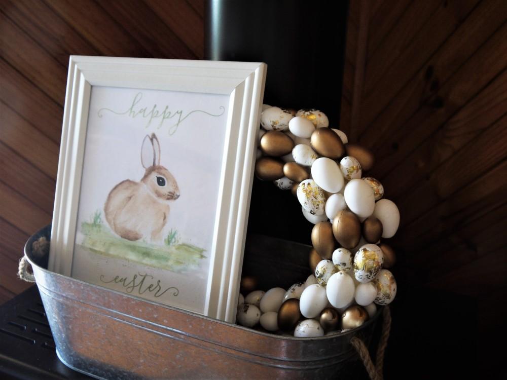 Easter-mantel-decor-closer