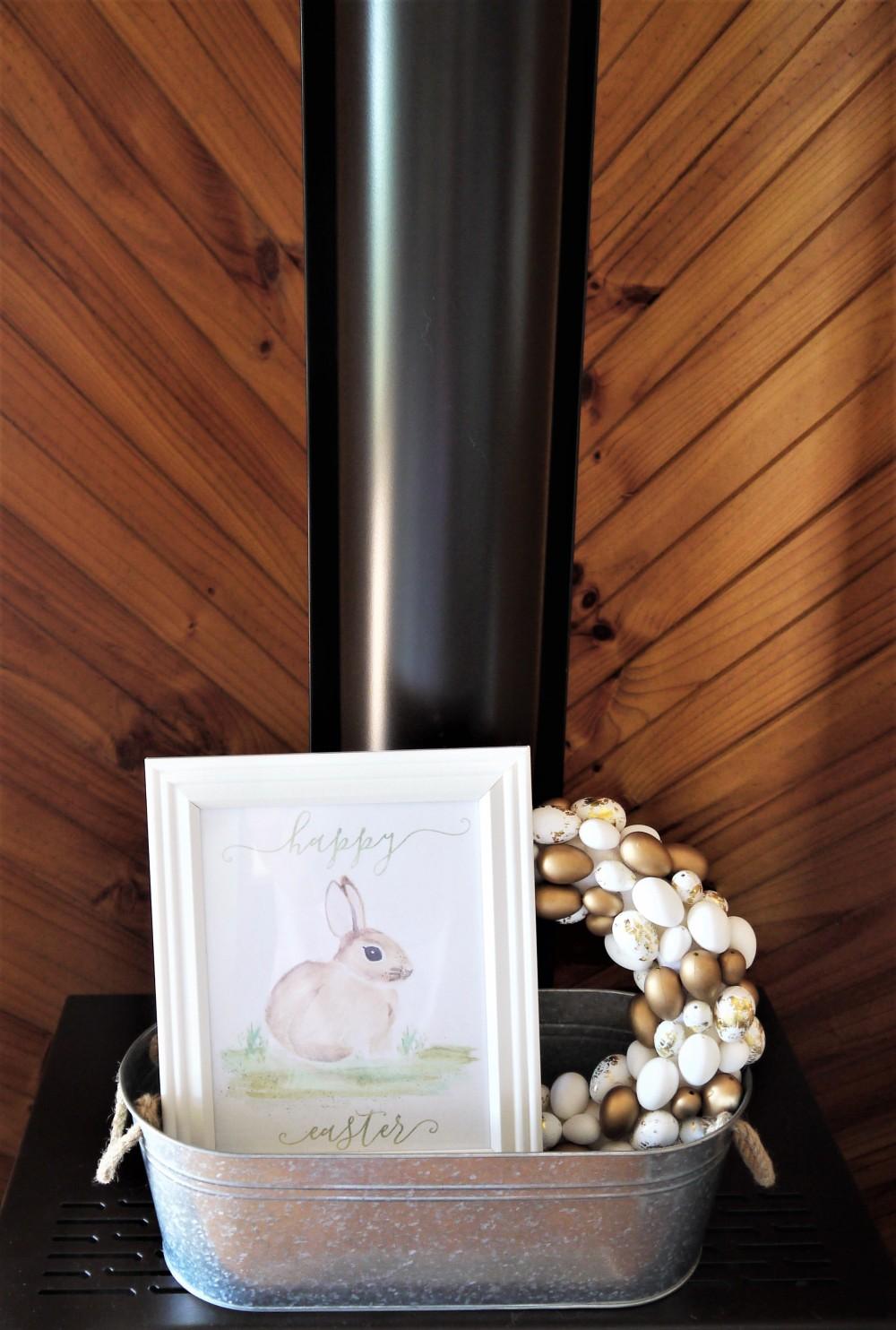 Easter-mantel-decor