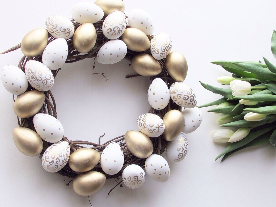 Sparkle-Shiny-Love-Easter-Wreath